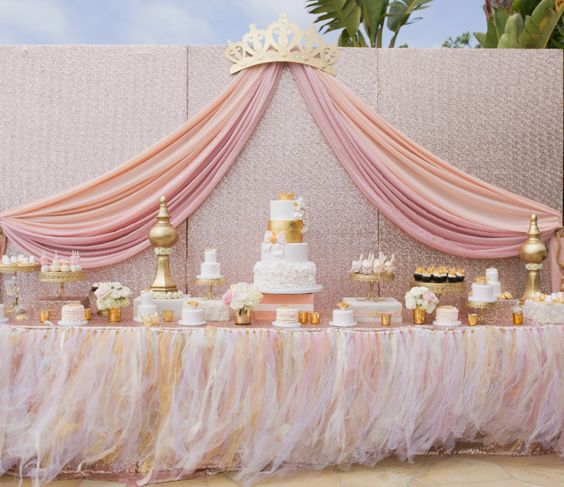 Picture Of adorable girl baby shower decor ideas youll like  10