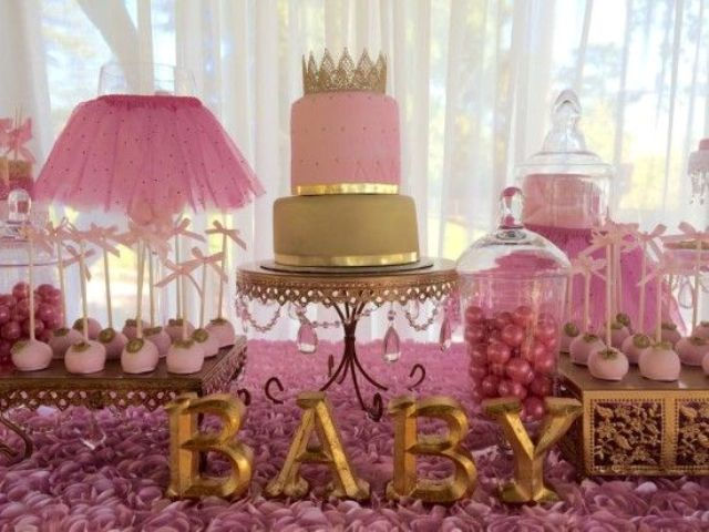 Picture Of adorable girl baby shower decor ideas youll like  13