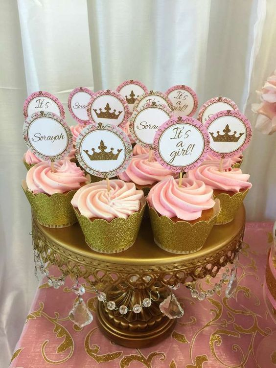 Picture Of adorable girl baby shower decor ideas youll like  29
