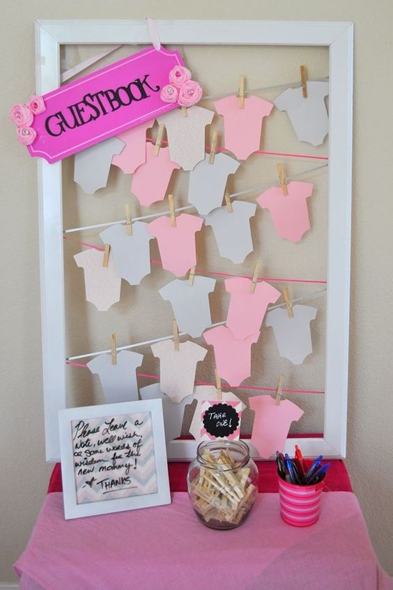 Adorable Girl Baby Shower Decor Ideas You'll Like