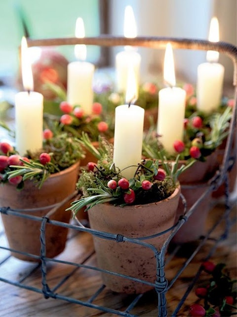 Adorable Indoor Rustic Christmas Decor Ideas