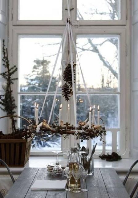 Adorable Indoor Rustic Christmas Decor Ideas