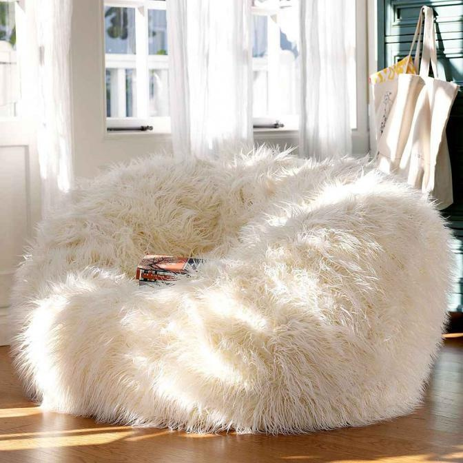 Adorable Warm Fur Furniture Pieces