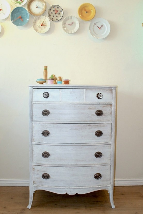 38 Adorable White Washed Furniture Pieces For Shabby Chic And Beach
