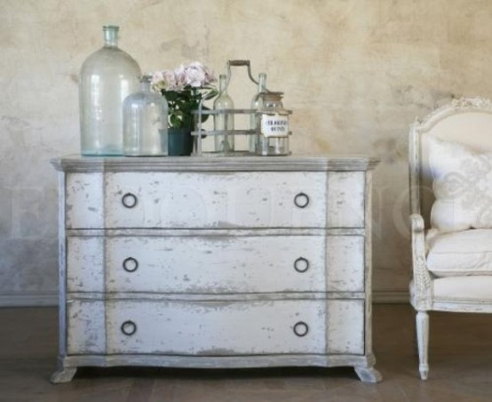 Dark Distressed Furniture