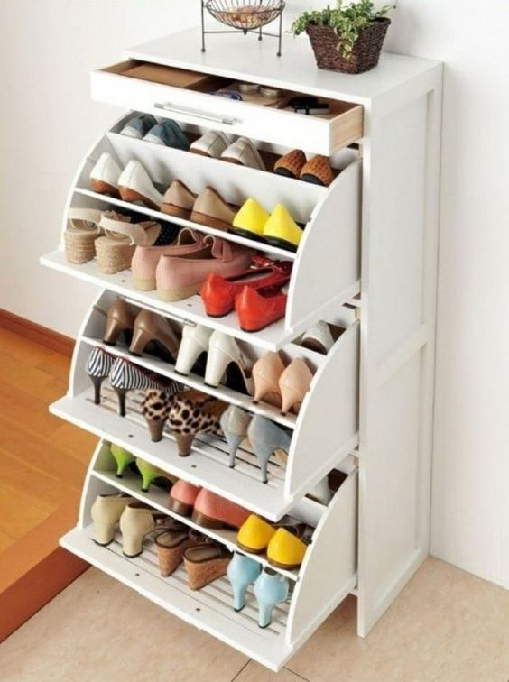 Picture Of adorably practical ideas to organize shoes in your home  10