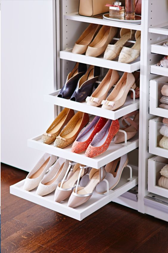 Picture Of adorably practical ideas to organize shoes in your home  14