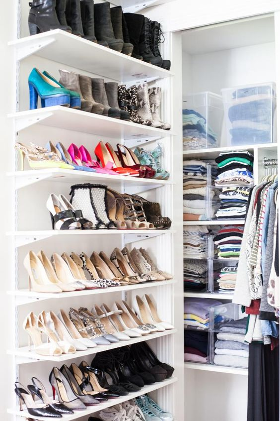 Picture Of Adorably Practical Ideas To Organize Shoes In