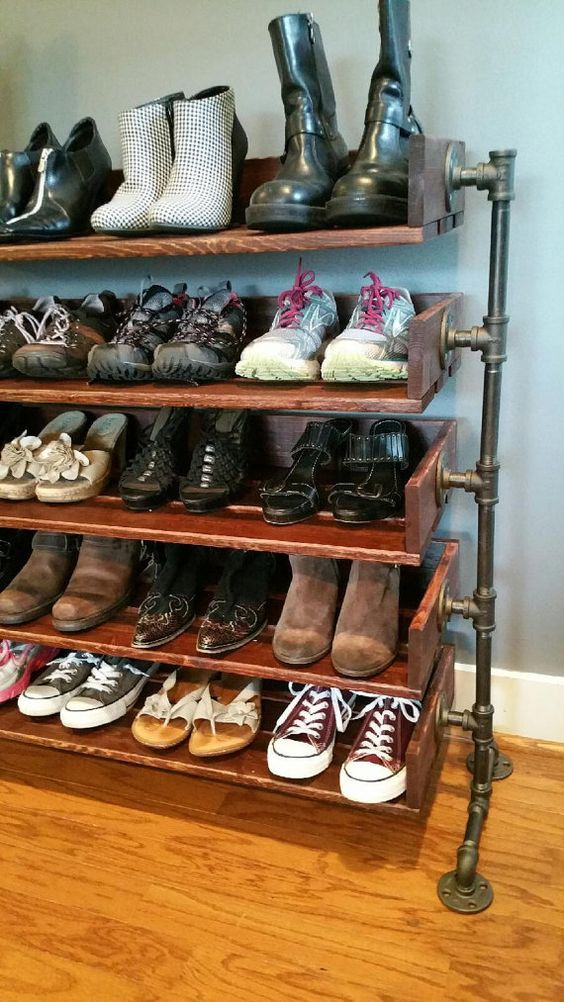 Picture Of adorably practical ideas to organize shoes in your home  28
