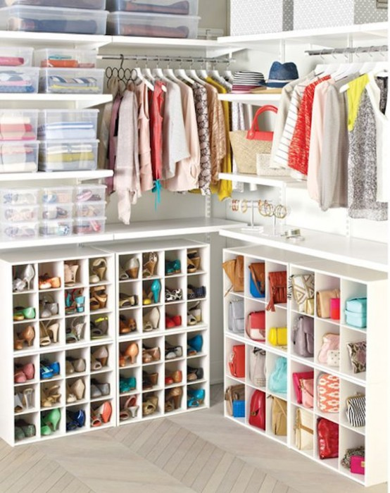 41 adorably practical ideas to organize shoes in your home digsdigs - Practical home tips easy solutions ...