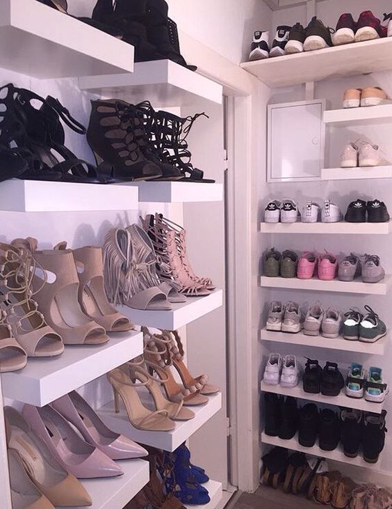 Picture Of adorably practical ideas to organize shoes in your home  40