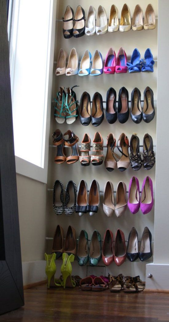 41 Adorably Practical Ideas To Organize Shoes In Your Home
