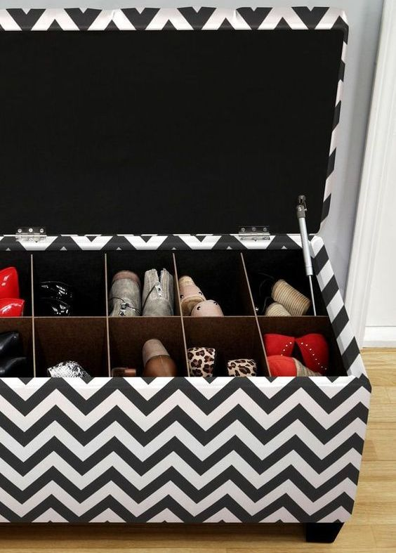 Picture Of adorably practical ideas to organize shoes in your home  9