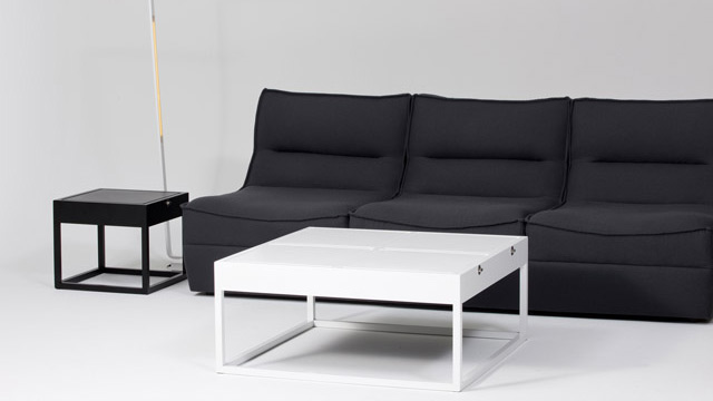 Transformable Coffee Tables That Can Become Cushioned Seats