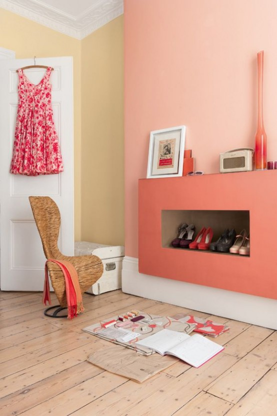 31 Affectionate Peach Accents In Home D 233 Cor Digsdigs