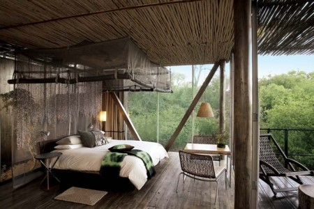 African Hotel Bedroom