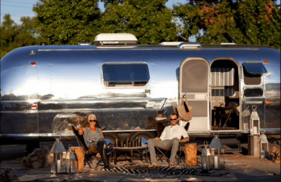 Cool Retro Airstream Remodeled In Moroccan Style