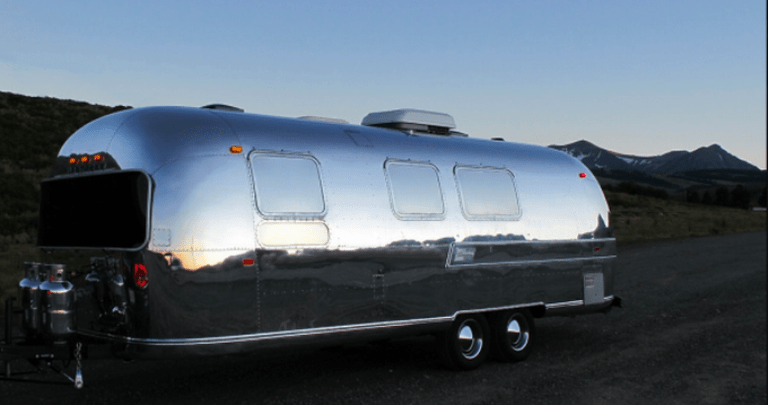 Airstream Remodeled In Moroccan Style