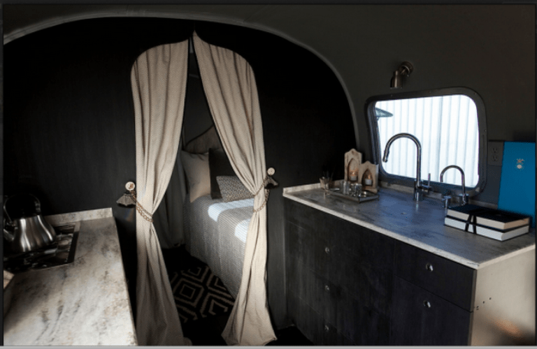 Cool Retro Airstream Remodeled In Moroccan Style Digsdigs