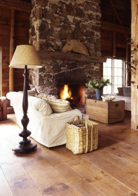 Romantic Room Ideas: 55 Airy And Cozy Rustic Living Room Designs