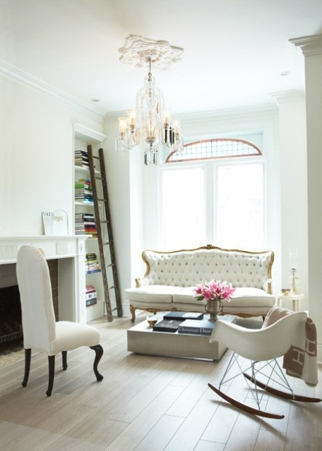 66 Airy And Elegant Feminine Living Rooms | DigsDigs