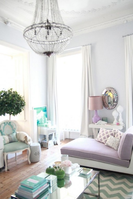 17 Marvelous Feminine Living Room Designs That Will Charm You
