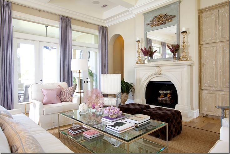 66 Airy And Elegant Feminine Living Rooms Digsdigs