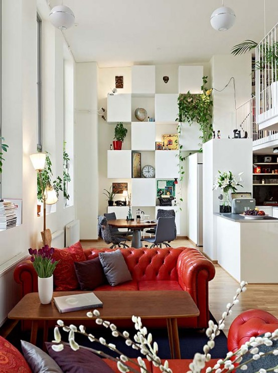 Airy And Lively Apartment In Gothenburg