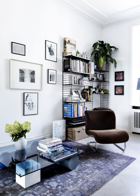 Airy Scandinavian And Mid Century Modern Apartment
