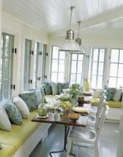Airy Scandinavian Sunroom Designs