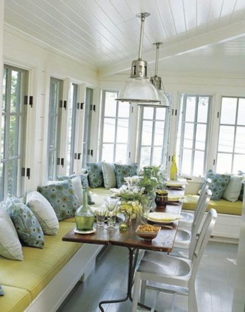 28 airy scandinavian sunroom designs digsdigs - Amazing image of sunroom interior design and decoration ...