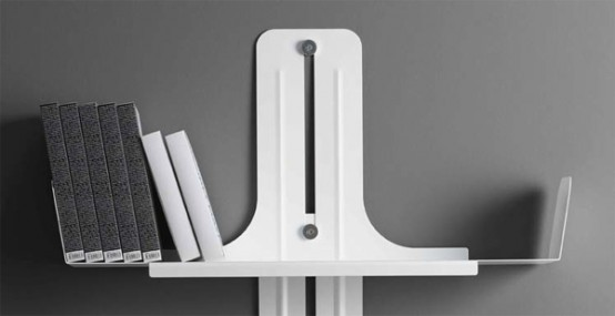 Alibook Metal Bookshelf System