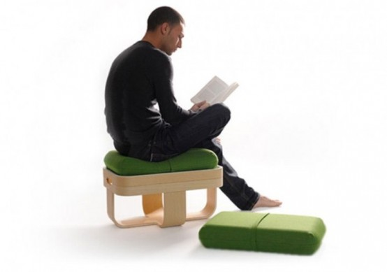 All In One Functional Piece Of Basket And Cushions