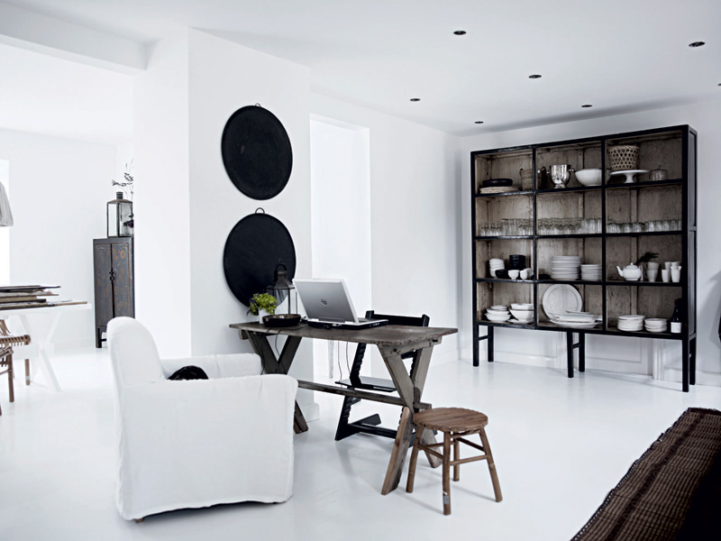 White Home Interior Design - Home Interior Design