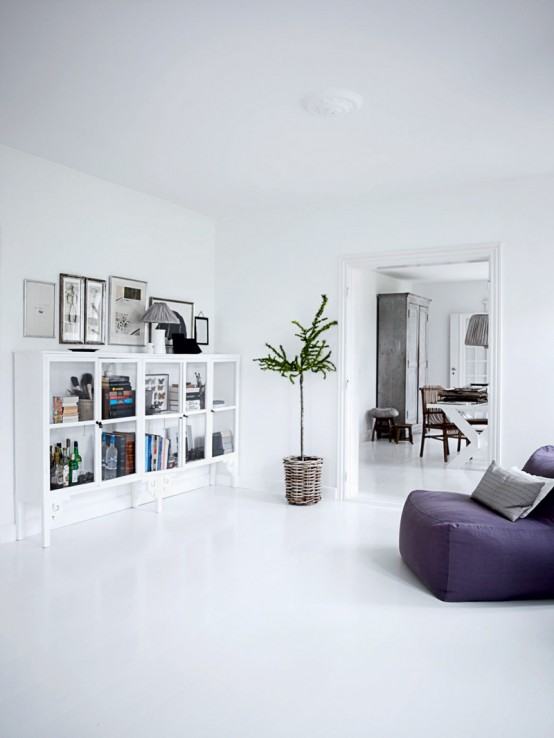 All White Home Interior Design