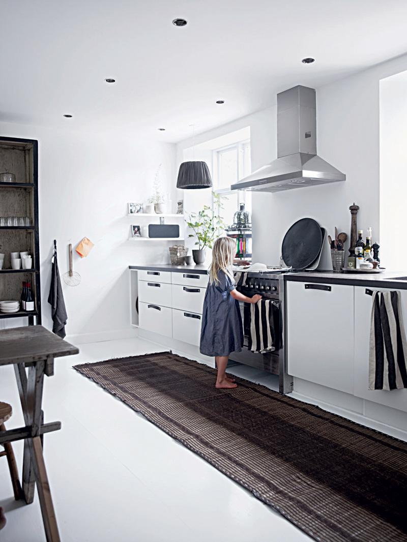 All White Home Interior Design