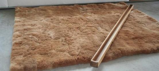 Alpaka Sami Thick And Soft Fiber Fur Rug
