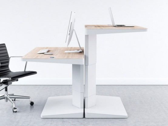 Practical Desk For Two – Alpha Desking Programme By Khodi Feinz