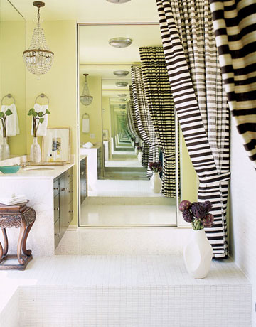 Amazing Bathroom In Green Tones