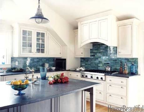 Awesome Red Kitchens Backsplashes