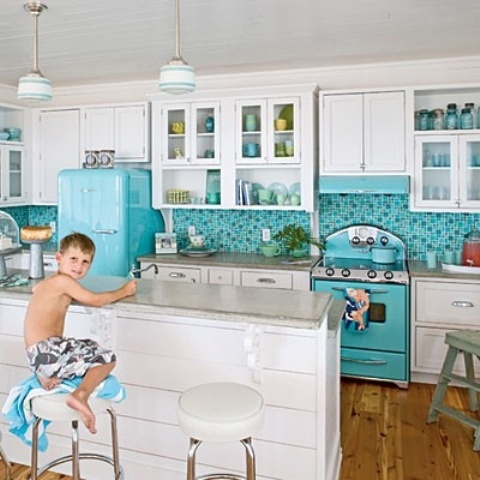 32 amazing beach inspired kitchen designs digsdigs for Caribbean kitchen design ideas