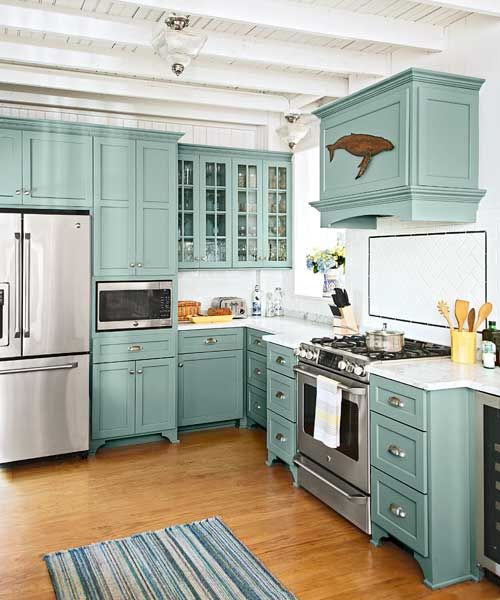 28 Antique White Kitchen Cabinets Ideas In 2019: 32 Amazing Beach-Inspired Kitchen Designs