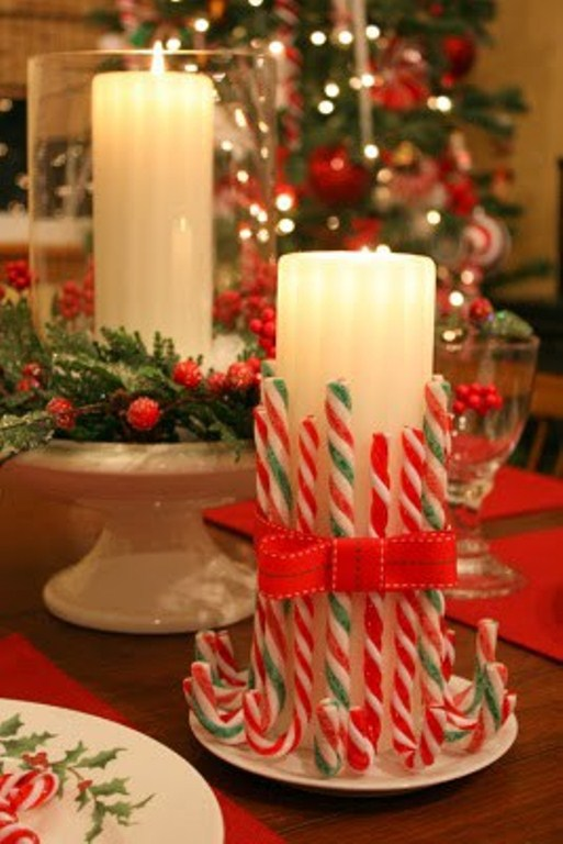 amazing christmas candles and decorations with them - Christmas Candle Decorations