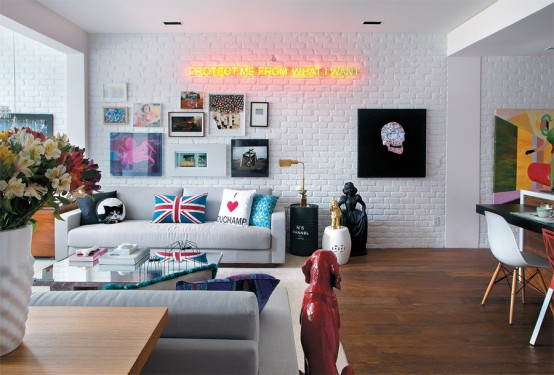Amazing Designer's House In A Crazy Mix Of Styles