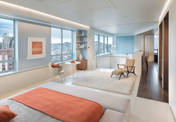 Amazing Duplex Penthouse Bedroom