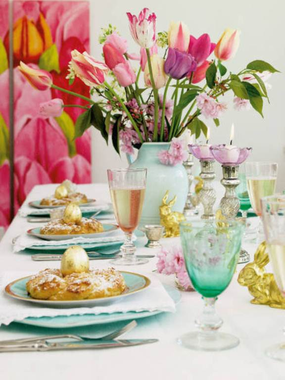 34 amazing easter centerpiece ideas for any taste digsdigs - Easter table decorations meals special ...