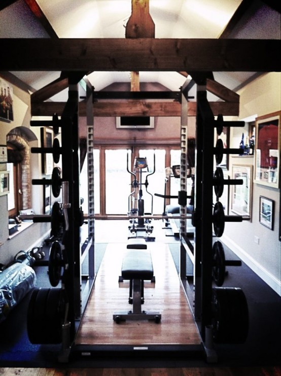 Simple At Home Gym Room