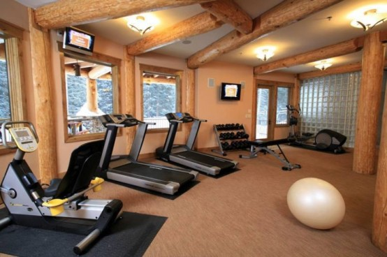 58 Well Equipped Home Gym Design Ideas DigsDigs Amazing Home Gym Designs. Home  Gym Design