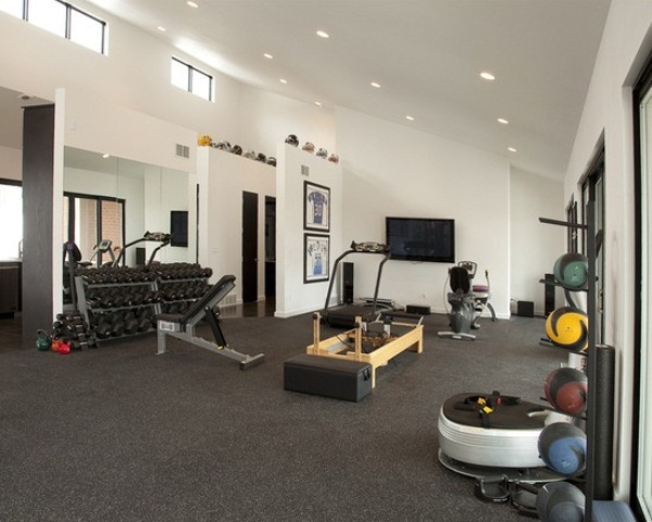 58 well equipped home gym design ideas digsdigs