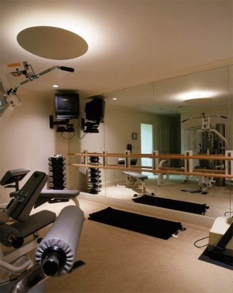 Amazing Home Gym Designs